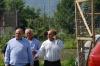Il direttore Massimo Civale con Andrea di Simone