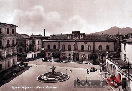 Nocera e il Vesuvio