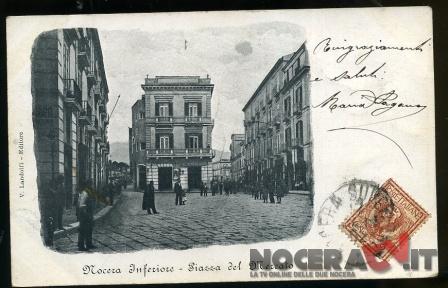 Piazza del Mercato Cartolina